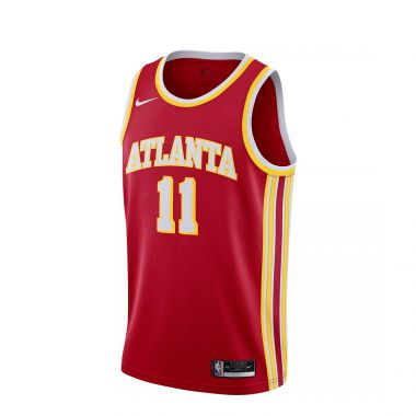 NIKE MEN'S ATLANTA HAWKS TRAE YOUNG #11 RED ICON EDITION JERSEY