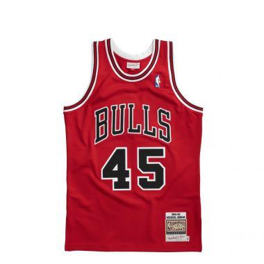 CHICAGO BULLS AUTHENTIC RED JERSEY´94 - MICHAEL JORDAN #45