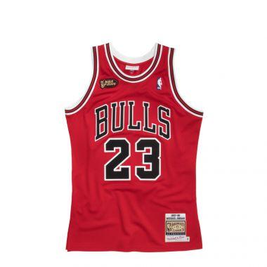 CHICAGO BULLS AUTHENTIC JERSEY´97 - MICHAEL JORDAN #23