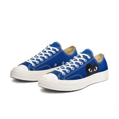 CONVERSE CHUCK TAYLOR ALL-STAR 70S OX COMME DES GARCONS PLAY BLUE