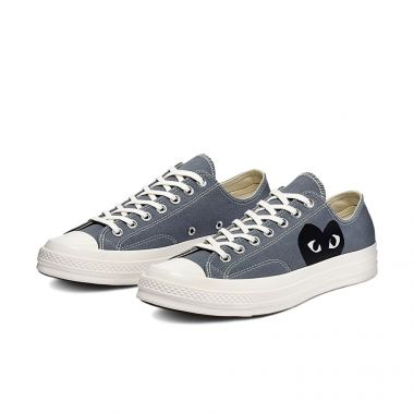 CONVERSE CHUCK TAYLOR ALL-STAR 70S OX COMME DES GARCONS PLAY GREY