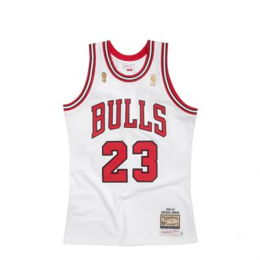 CHICAGO BULLS AUTHENTIC JERSEY´96 - MICHAEL JORDAN #23