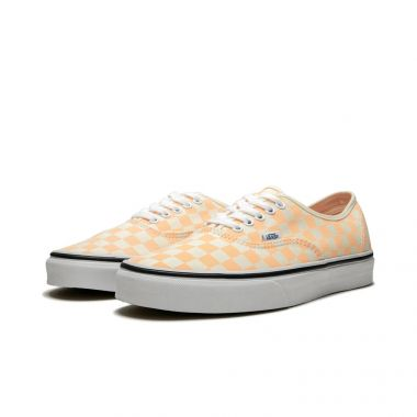 """VANS AUTHENTIC """"CHECKERBOARD - APRICOT"""""""